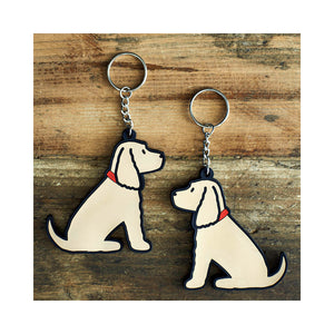 Dog Lover Gifts available at Dog Krazy Gifts - Hetty The Golden Cocker Keyring - part of the Sweet William range available from Dog Krazy Gifts