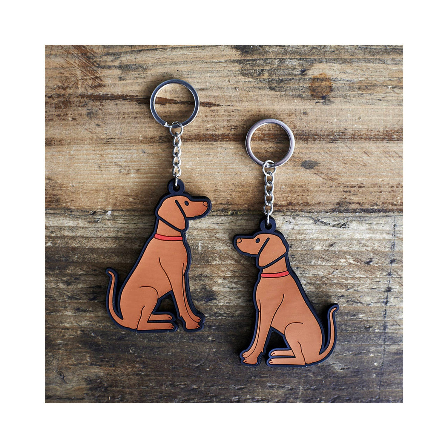 Dog Lover Gifts available at Dog Krazy Gifts - Joe The Vizsla Keyring - part of the Sweet William range available from Dog Krazy Gifts