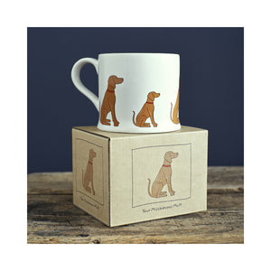 Dog Lover Gifts available at Dog Krazy Gifts - Joe The Vizsla Mug - part of the Sweet William range available from Dog Krazy Gifts