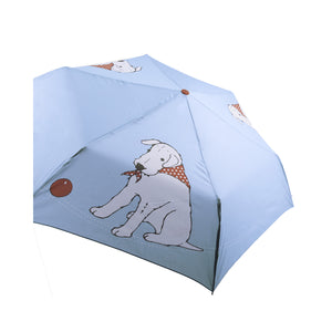 DogKrazyGifts - Douglas The Boy Wonder Boy Folding Umbrella - part of the Little Dog Range available from Dog Krazy Gifts