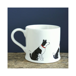 DogKrazyGifts - Lola The Border Collie Mug - part of the Sweet William range of gifts for dog lovers available from Dog Krazy Gifts