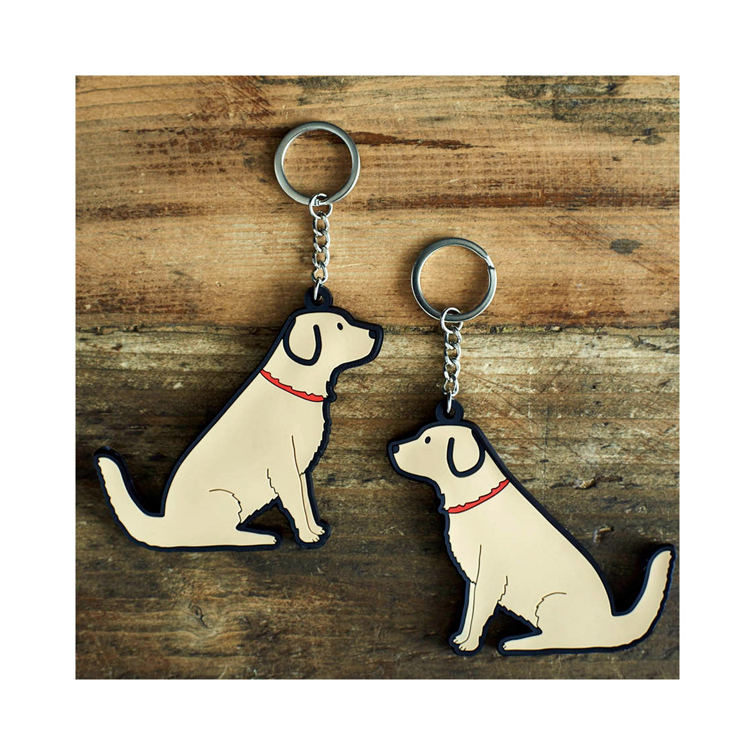 Dog Lover Gifts available at Dog Krazy Gifts - Noah The Golden Retriever Keyring - part of the Sweet William range available from Dog Krazy Gifts