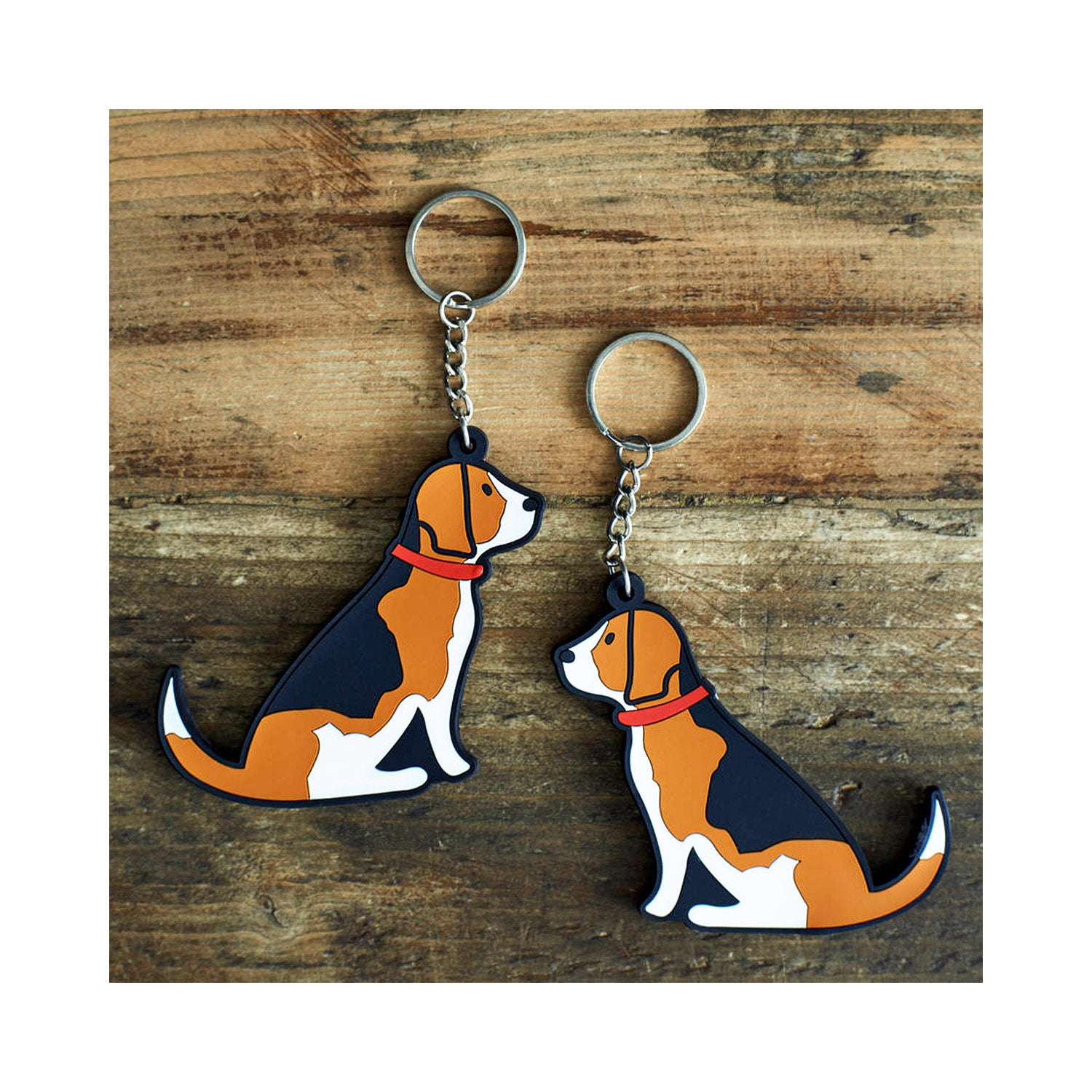 Dog Lover Gifts available at DogKrazyGifts - Rupert The Beagle Keyring - part of the Sweet William range available from Dog Krazy Gifts