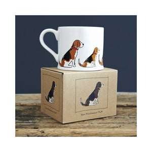 Dog Lover Gifts available at Dog Krazy Gifts - Rupert The Beagle Mug - part of the Sweet William range available from DogKrazyGifts.co.uk