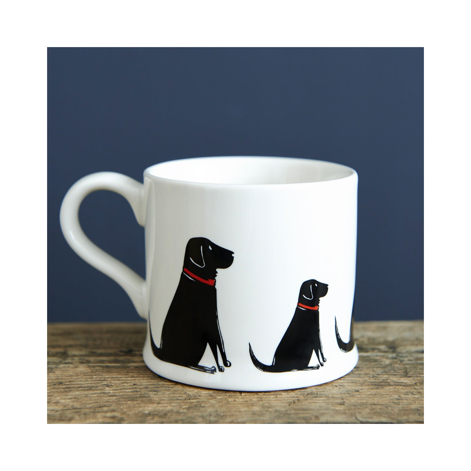 Dog Lover Gifts available at Dog Krazy Gifts - William The Black Labrador Mug by Sweet William - part of the Labrador collection of Dog Lovers Gifts available from Dog Krazy Gifts