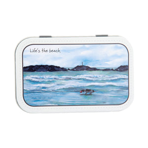 DogKrazyGifts - Life's The Beach Mint Tin - Part of the digs & manor range available from Dog Krazy Gifts