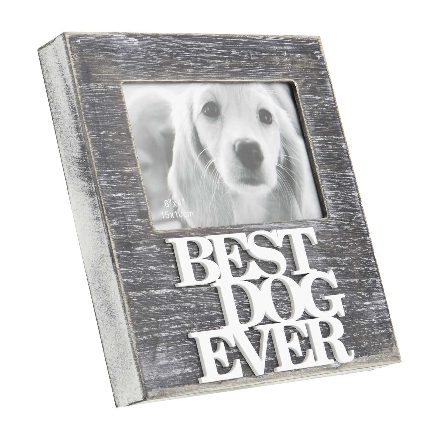 Dog Lover Gifts – Best Dog Ever Picture Frame, Just Part Of Our Collection Of Signs Available at www.dogkrazygifts.co.uk