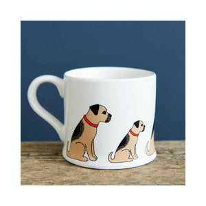Dog Lover Gifts available at Dog Krazy Gifts - Bertie The Border Terrier Mug - part of the Sweet William range available from DogKrazyGifts.co.uk