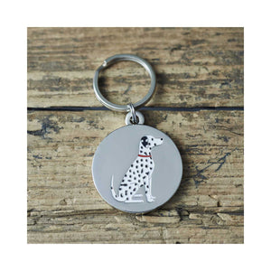 Dog Lover Gifts available at Dog Krazy Gifts - Hector The Dalmatian Cufflink and Dog Tag Set - part of the Sweet William range available from Dog Krazy Gifts