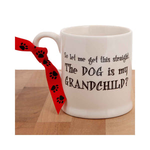Dog Krazy Gifts - Dog Is My Grandchild Mug part of the Sweet William range available from DogKrazyGifts.co.uk