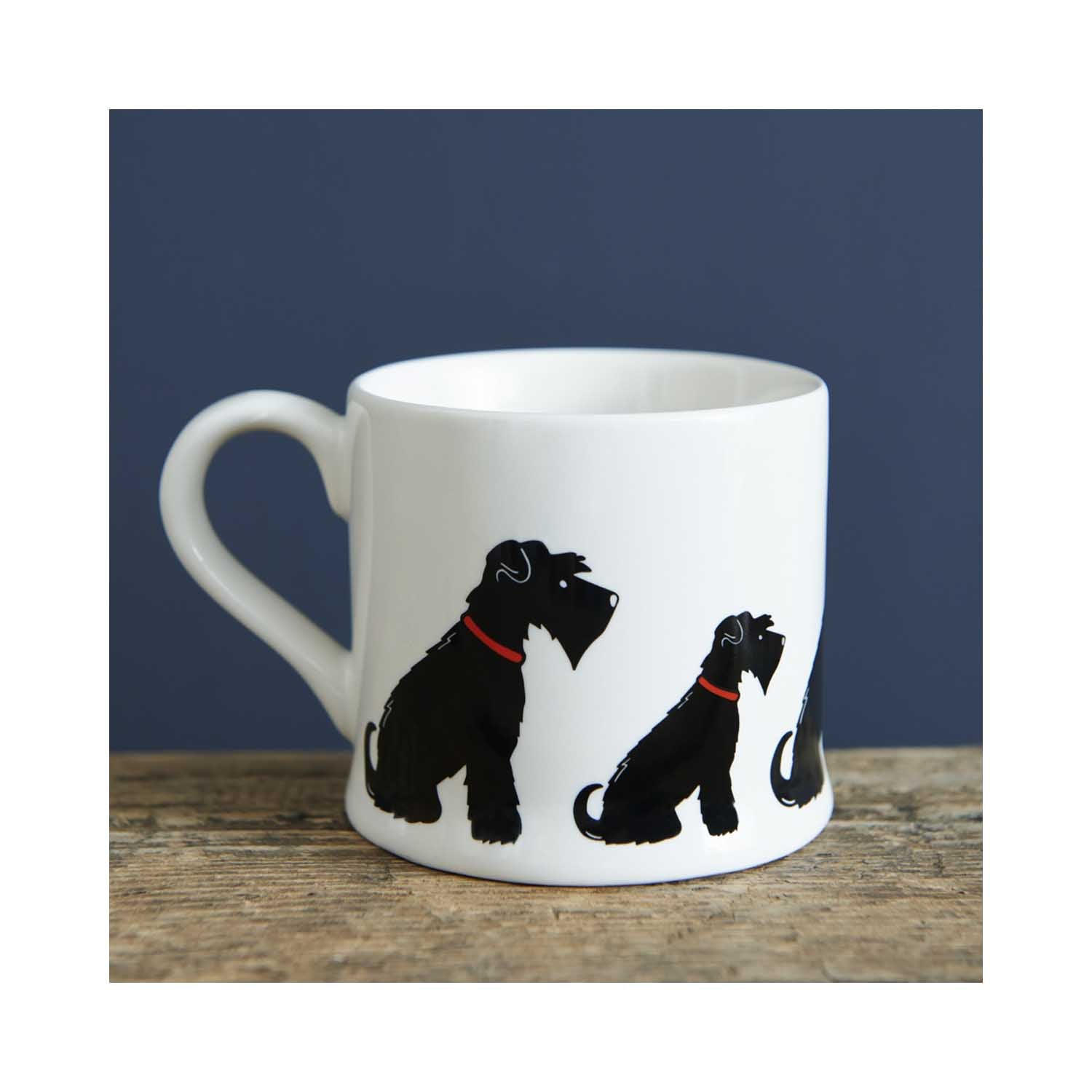Dog Lover Gifts available at Dog Krazy Gifts - Ernie the Black Schnauzer Mug - part of the Sweet William range available from www.DogKrazyGifts.co.uk