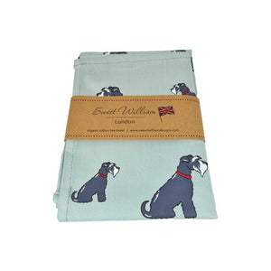 Dog Lover Gifts - Dog Krazy Gifts - Dachshund, Jack Russell, Black Labrador and Beagle Organic Tea Towels - part of the Sweet William range available from www.DogKrazyGifts.co.uk