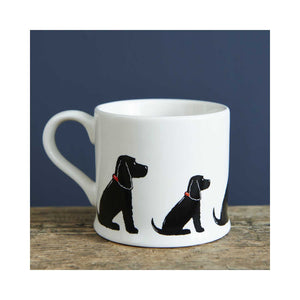 Dog Lover Gifts available at Dog Krazy Gifts - Hugo the Black Cocker Spaniel Mug - part of the Sweet William range available from www.DogKrazyGifts.co.uk