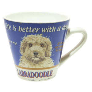 Dog Lover Gifts available at Dog Krazy Gifts – Retro Labradoodle Mug available at www.dogkrazygifts.co.uk