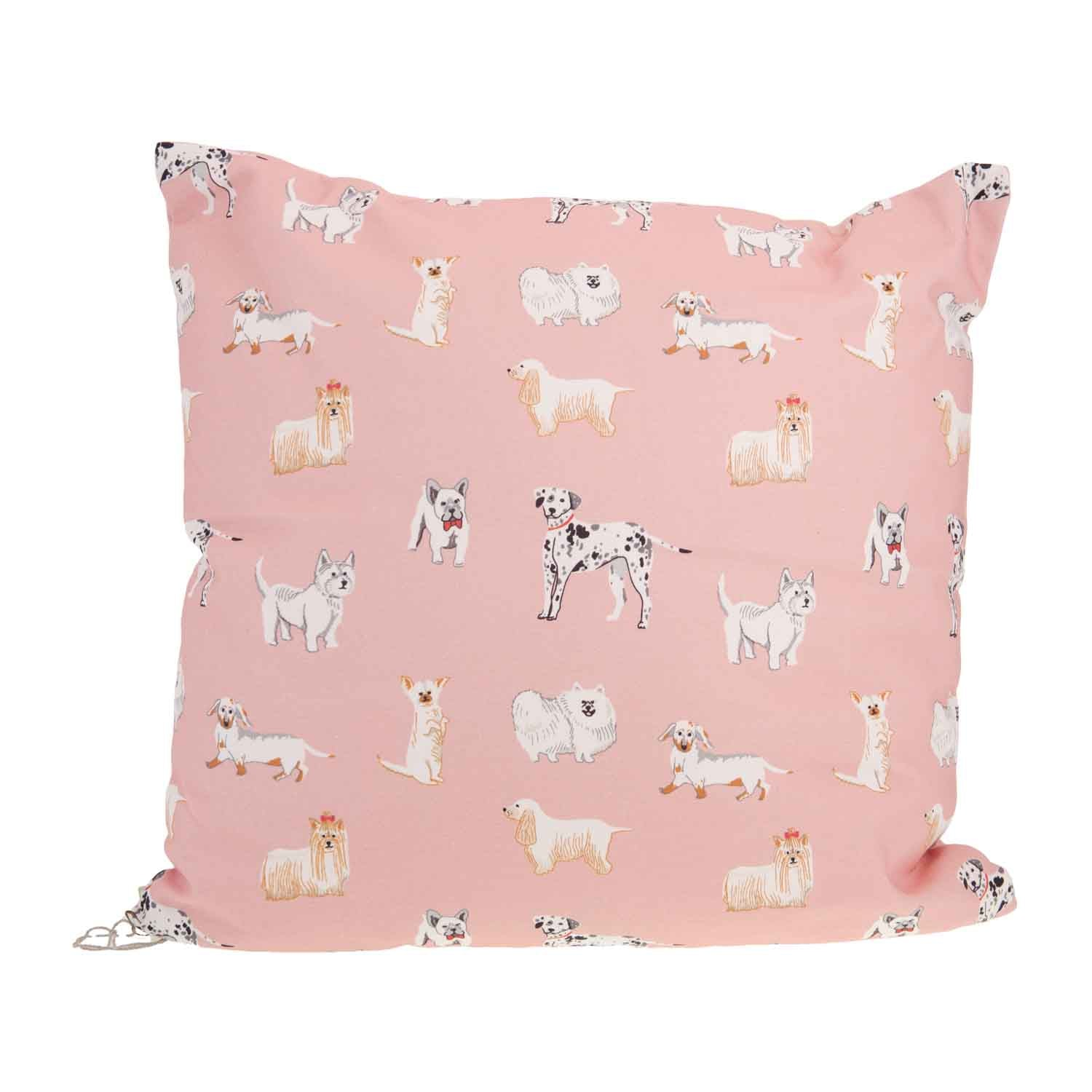 Dog Krazy Gifts - Watercolour Dogs Cushion, part of the Lisa Angel range available from DogKrazyGifts.co.uk