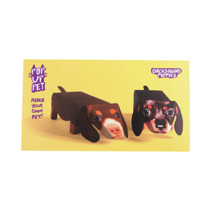 Dog Krazy Gifts - Dachshund Pop Up Puppies, part of the range of Dachshund themed gifts available from DogKrazyGifts.co.uk