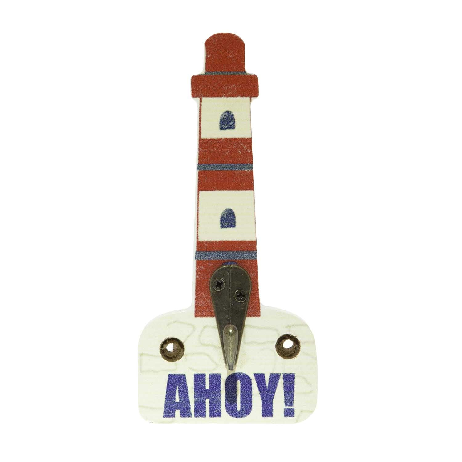 Dog Lover Gifts available at Dog Krazy Gifts – Jill White Rocket68 Ahoy Lighthouse Hook Part Of The Set of 4 available at www.dogkrazygifts.co.uk
