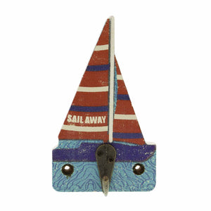 Dog Lover Gifts available at Dog Krazy Gifts – Jill White Rocket68 Ahoy Sailing Boatl Hook Part Of The Set of 4 available at www.dogkrazygifts.co.uk