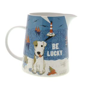 Dog Lover Gifts available at Dog Krazy Gifts – Jill White Rocket68 Ahoy Be Lucky Large Jug available at www.dogkrazygifts.co.uk