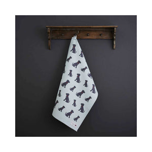 Dog Lover Gifts - Dog Krazy Gifts - Bree The Staffie Organic Tea Towels - part of the Sweet William range available from www.DogKrazyGifts.co.uk