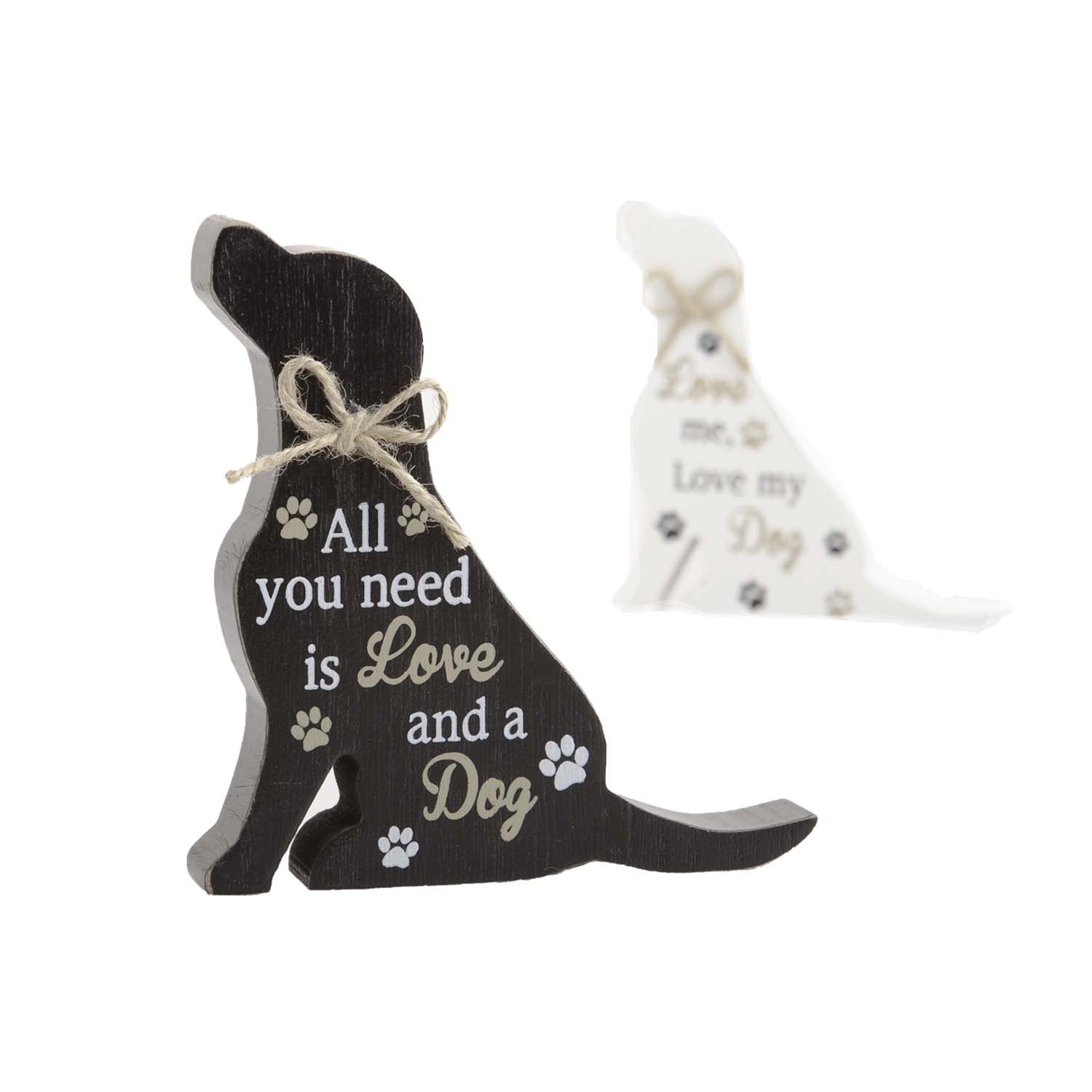 Dog Lover Gifts available at Dog Krazy Gifts – Labrador Standing Dog Sign, All you Need is Love and A Dog, Just Part Of Our Collection Of Signs Available At www.dogkrazygifts.co.uk