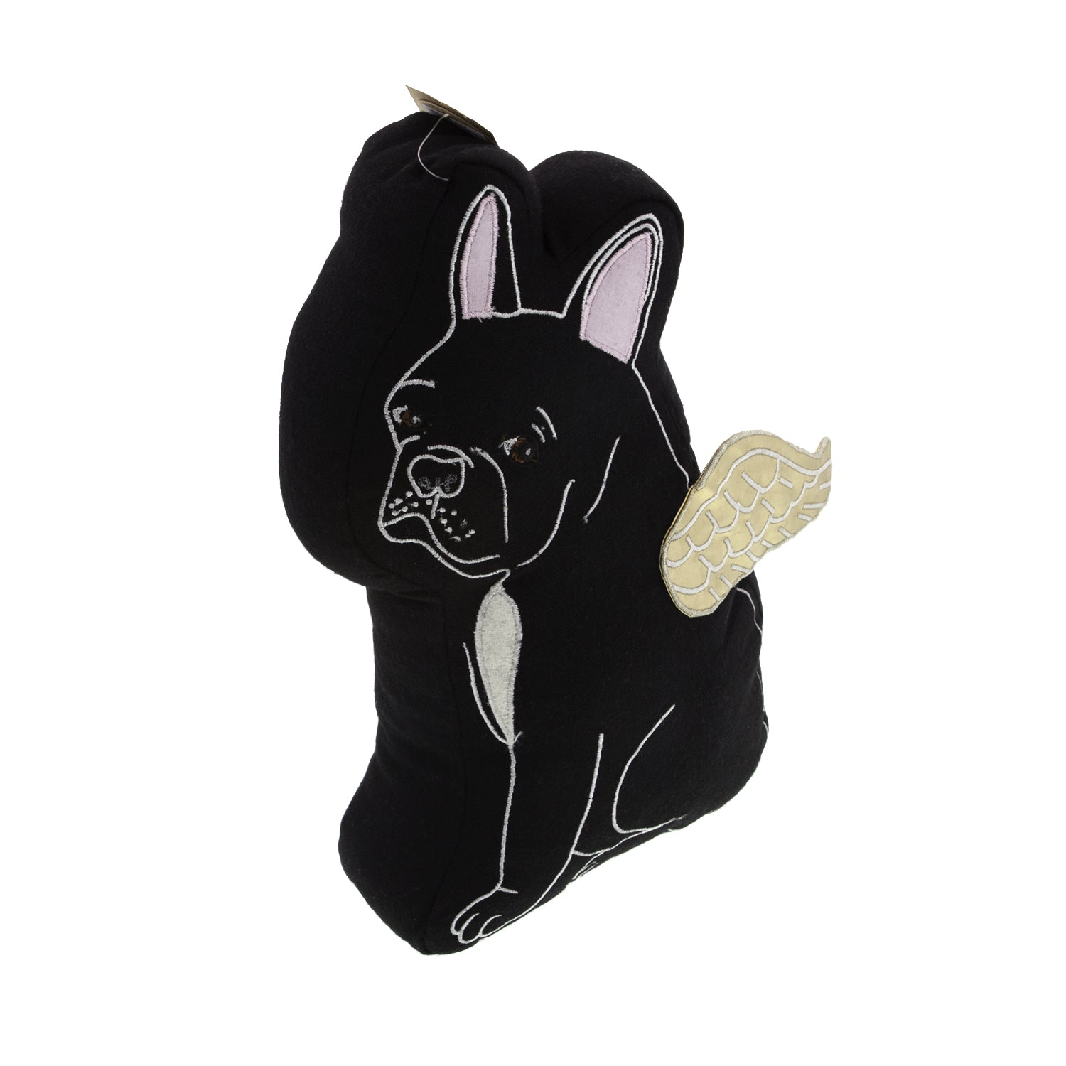 Dog Lover Gifts available at Dog Krazy Gifts  – Black French Bulldog Cushion – Gorgeously detailed and handcrafted luxury cushions part of the French Bulldog Range available from Dog Krazy Gift