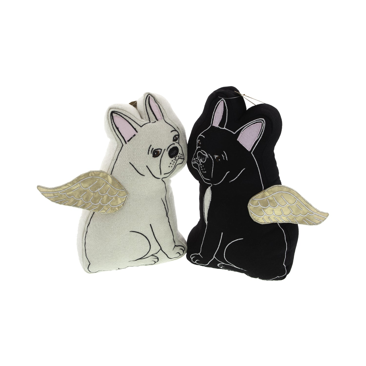 Dog Lover Gifts available at Dog Krazy Gifts – Black and Cream French Bulldog Cushions – Gorgeously detailed and handcrafted luxury cushions part of the French Bulldog Range available from Dog Krazy Gifts