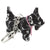 DogKrazy.Gifts –Black and White Scottie Dog Keyring –Extremely cute comes in six colourways, and makes a great gift for a Scottie Dog (or Westie) fan. Part of the range of Scottie Dog and Westie  gifts available from Dog Krazy Gifts