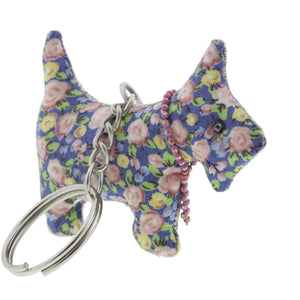 DogKrazy.Gifts –Blue Rose Scottie Dog Keyring –Extremely cute comes in six colourways, and makes a great gift for a Scottie Dog (or Westie) fan. Part of the range of Scottie Dog and Westie  gifts available from Dog Krazy Gifts