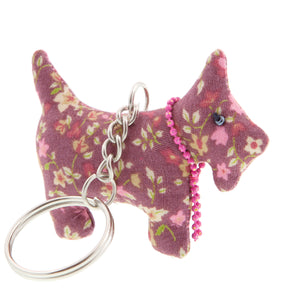 DogKrazy.Gifts –Dusky Pink Scottie Dog Keyring –Extremely cute comes in six colourways, and makes a great gift for a Scottie Dog (or Westie) fan. Part of the range of Scottie Dog and Westie  gifts available from Dog Krazy Gifts