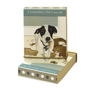 Dog Krazy Gifts - Bills Flip notebook - part of the Little Dog Range available from DogKrazyGifts.co.uk