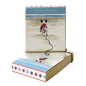 Dog Krazy Gifts - Freedom Flip notebook - part of the Little Dog Range available from DogKrazyGifts.co.uk