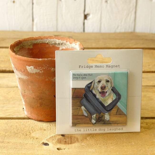 Dog Krazy Gifts - Bin There Fridge Magnet - part of the Little Dog Range available from DogKrazyGifts.co.uk
