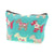 Dog Krazy Gifts – Mint Scottie Dog Cosmetic Bag, part of the Scottish Terrier range of products available from DogKrazyGifts.co.uk