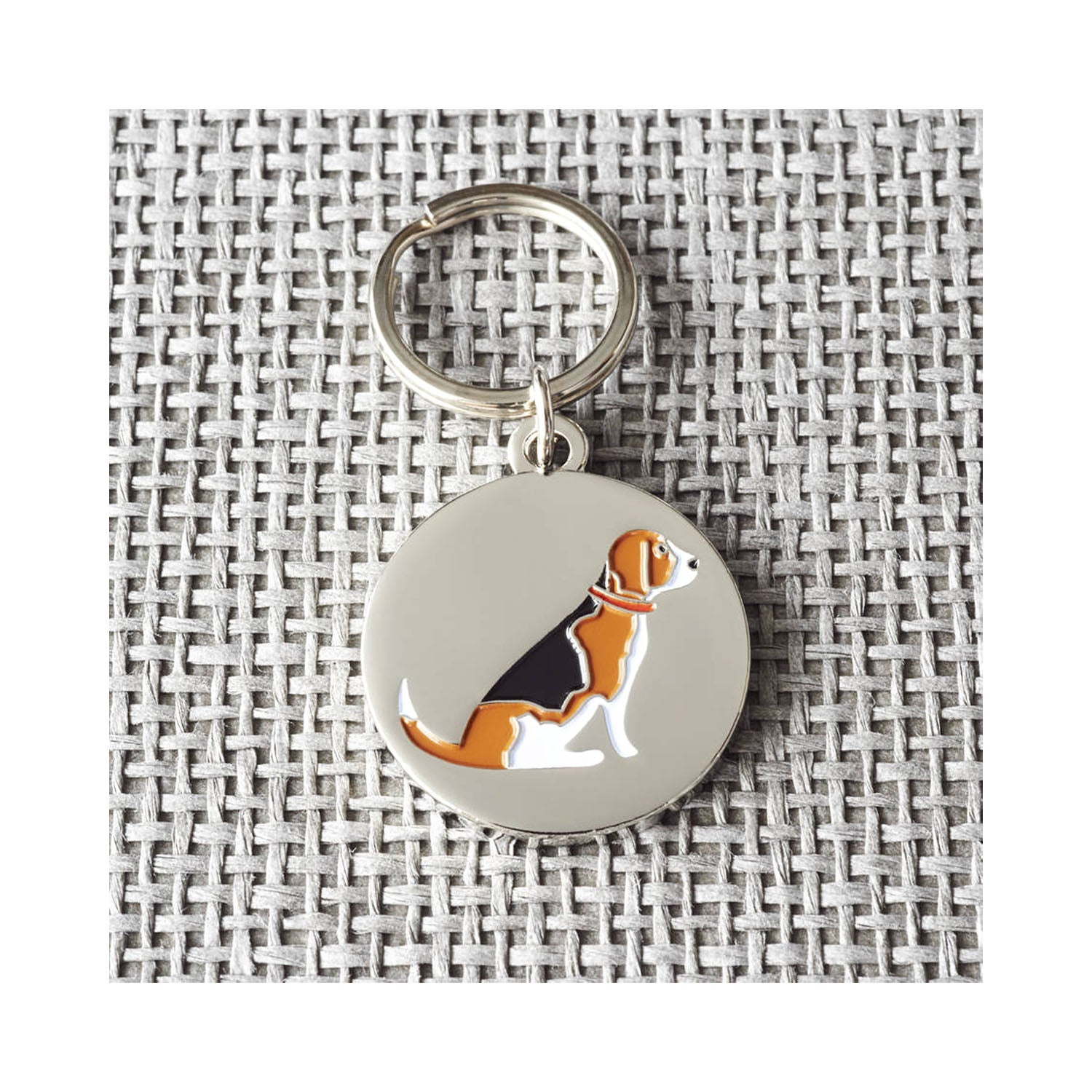 Dog Lover Gifts available at DogKrazyGifts - Rupert The Beagle Cufflink and Dog Tag Set - part of the Sweet William range available from Dog Krazy Gifts