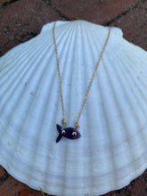Tiny fish necklace (silver or gold)