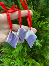Wampum Christmas ornament DIAMOND