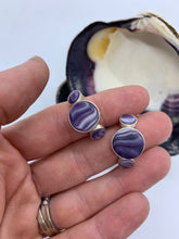 Wampum rings bezel set