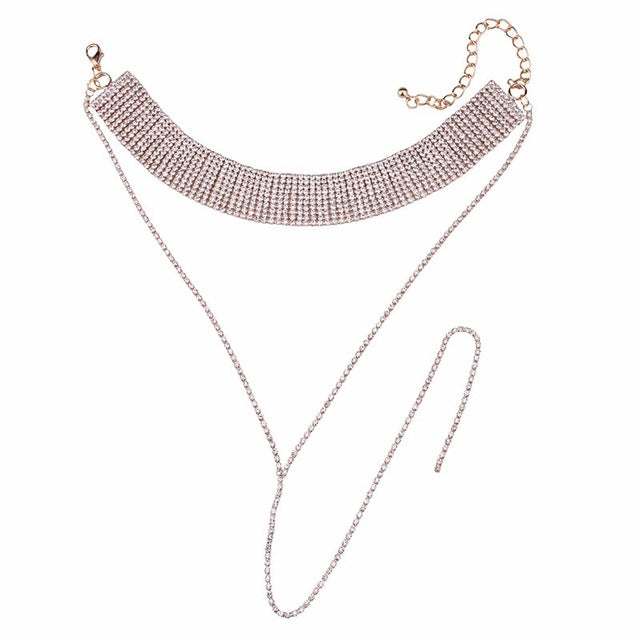Glitcrys Choker Necklace