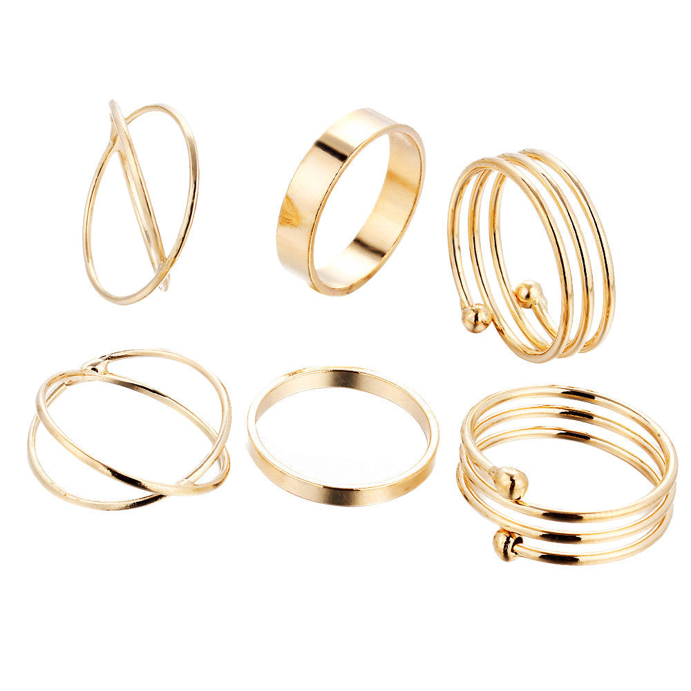 High Street Ring Set