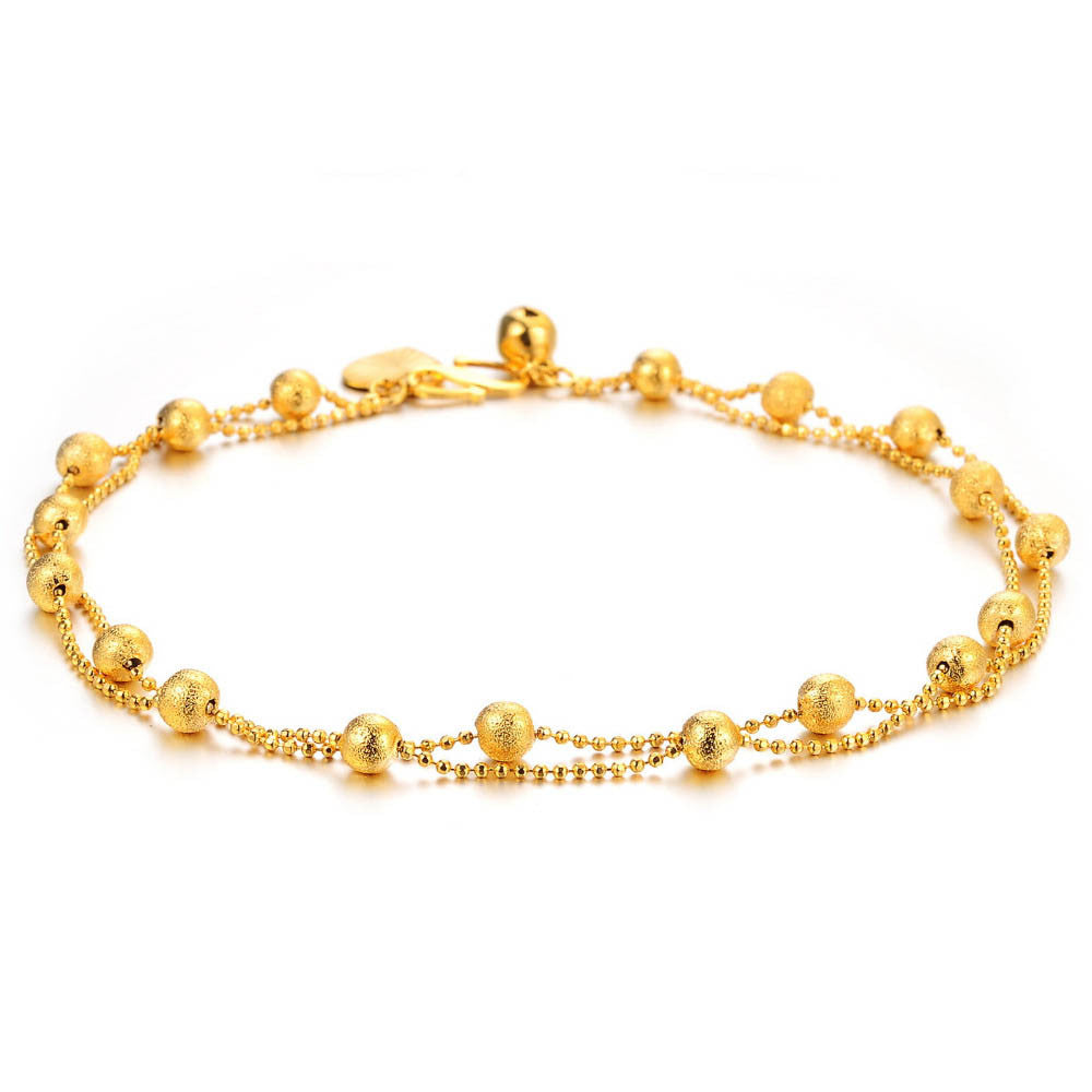 Golden Footy Bracelet