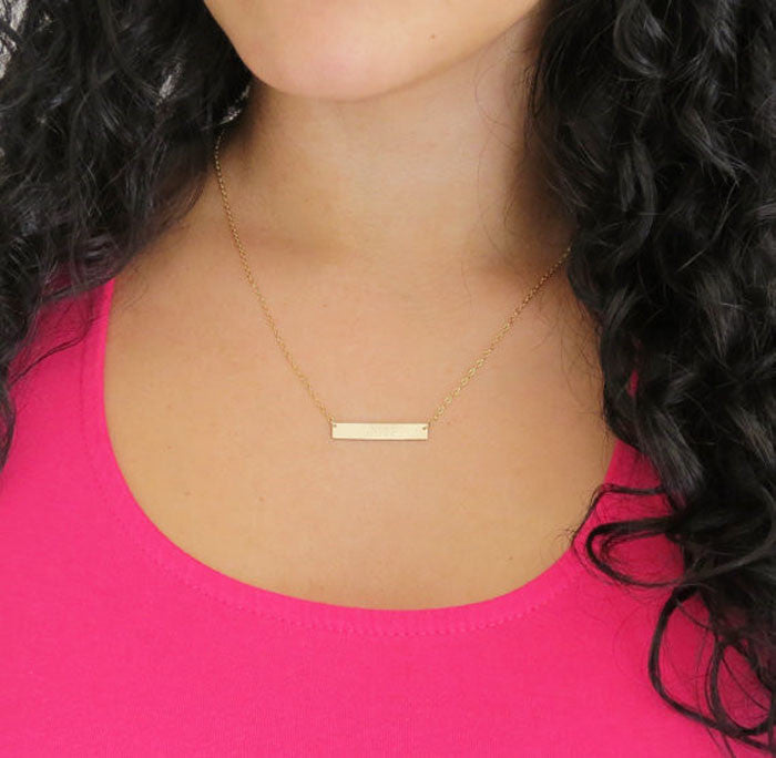 Golden Brick Necklace