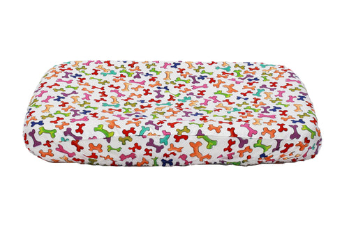 Dog Bone Sheet for memory foam dog bed
