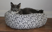 Fish Bone Cat Bed Sheet Cover