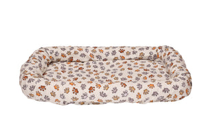 Rectangle Pet Bed Cover - Paws Everywhere