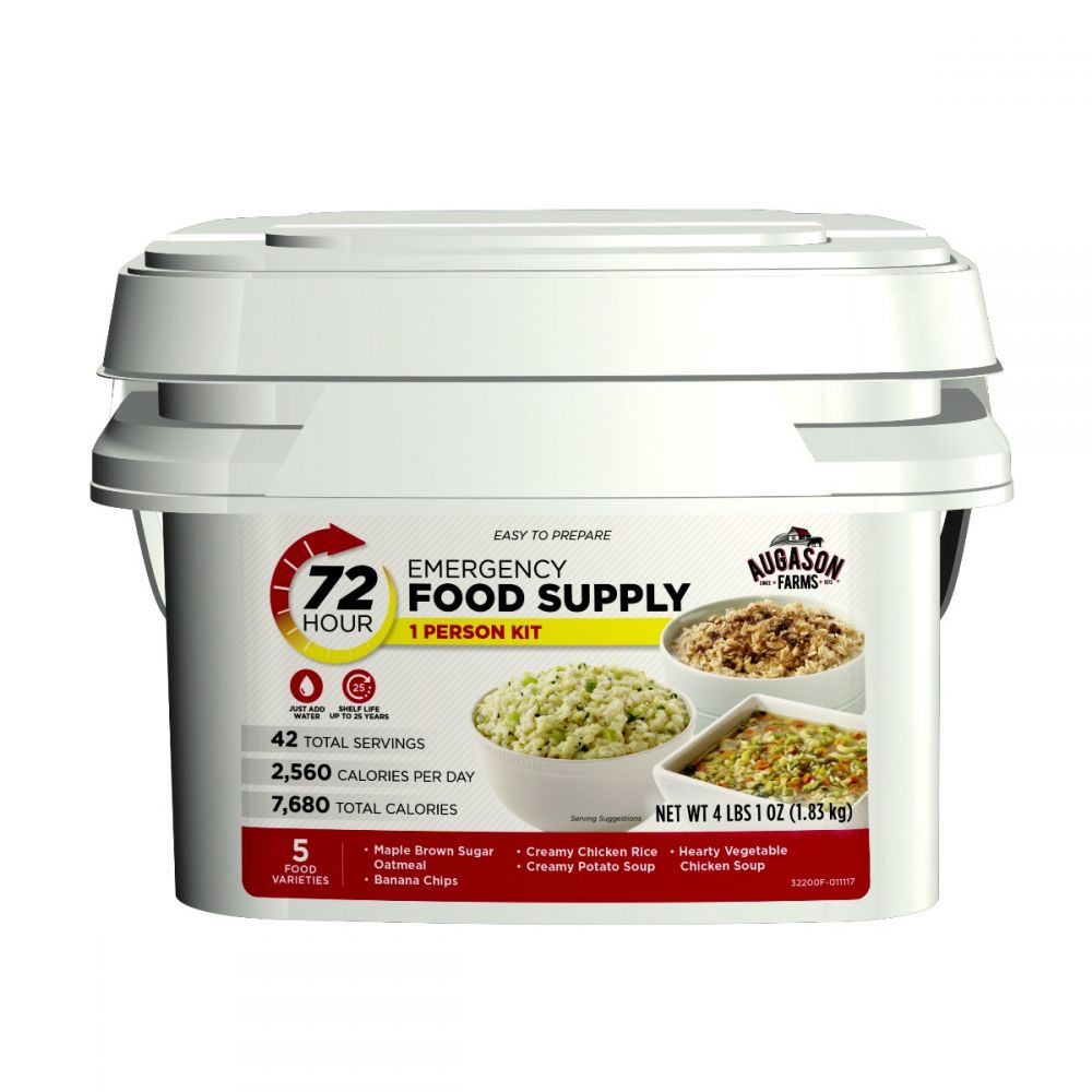 72-Hour 1-Person Emergency Food Supply Kit,Continuum Prepper,emergency food