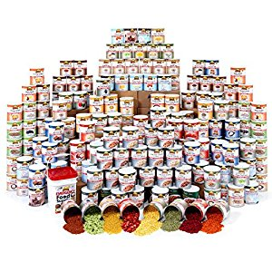 Deluxe Emergency 1-Year Food Supply (4 Person),Continuum Prepper,emergency food
