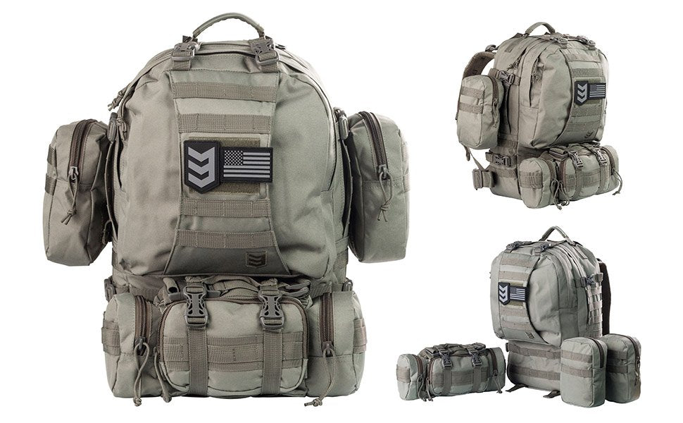 Paratus 3 Day Operator's Tactical Backpack Military Rucksack / Bug Out Bag,Continuum Prepper,backpack