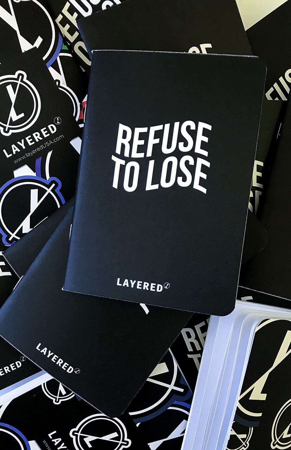 Refuse To Lose Idea Book