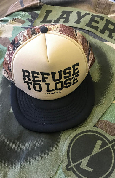 Refuse To Lose - Summer Trucker Snapback